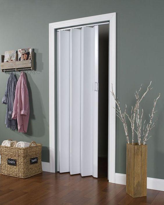 Porta para quarto sanfonada