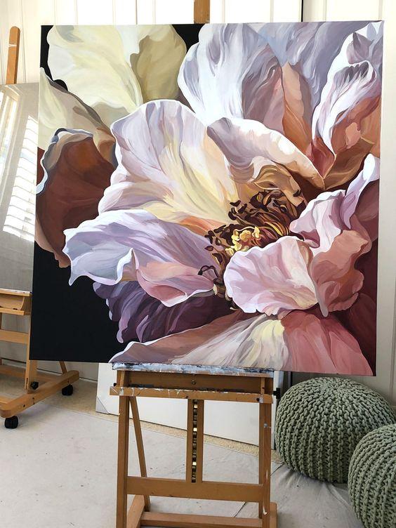 Quadros clássicos de flores