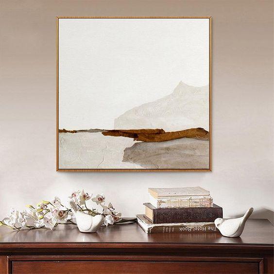 Quadros clássicos minimalistas