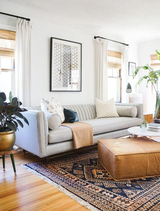 Quadros minimalistas para sala clássica