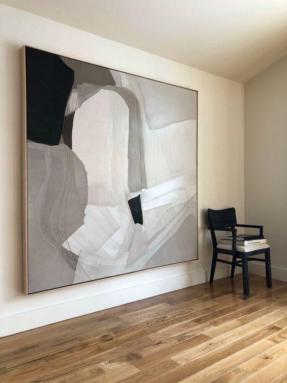 Quadros clássicos preto e branco