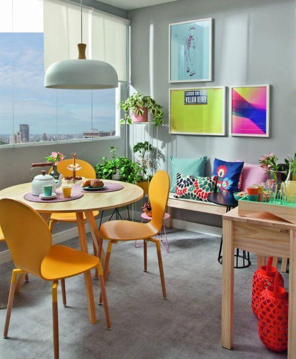 Quadros para varanda colorida e moderna