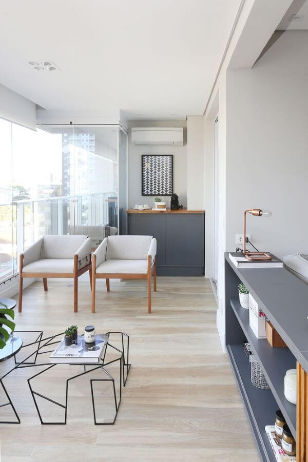 Quadros com varanda preto e branco