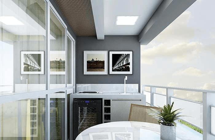 Quadros para varanda preto e branco