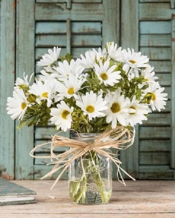A flor margarida também é conhecida como bem-me-quer