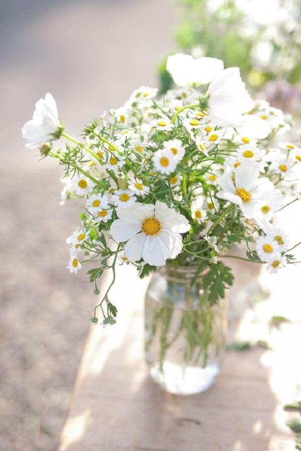 A planta margarida é considerada por muitos como a flor do amor