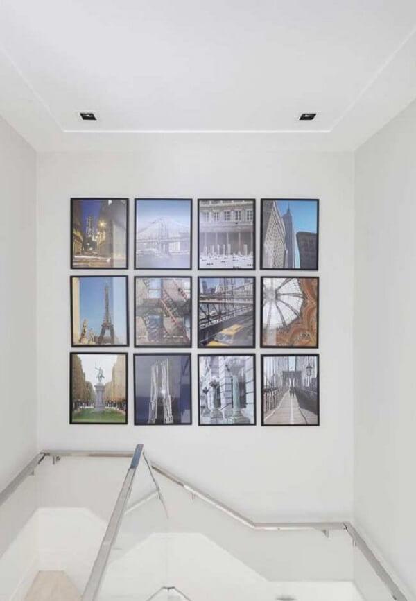 As placas decorativas para paredes formam uma linda composição no ambiente