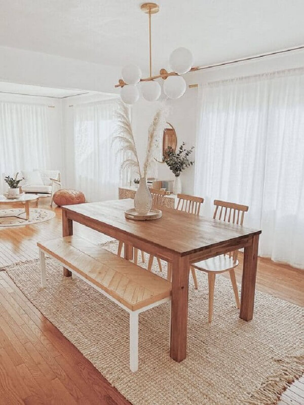 Não deixe os tapete de fora na hora de repaginar o visual de sua casa