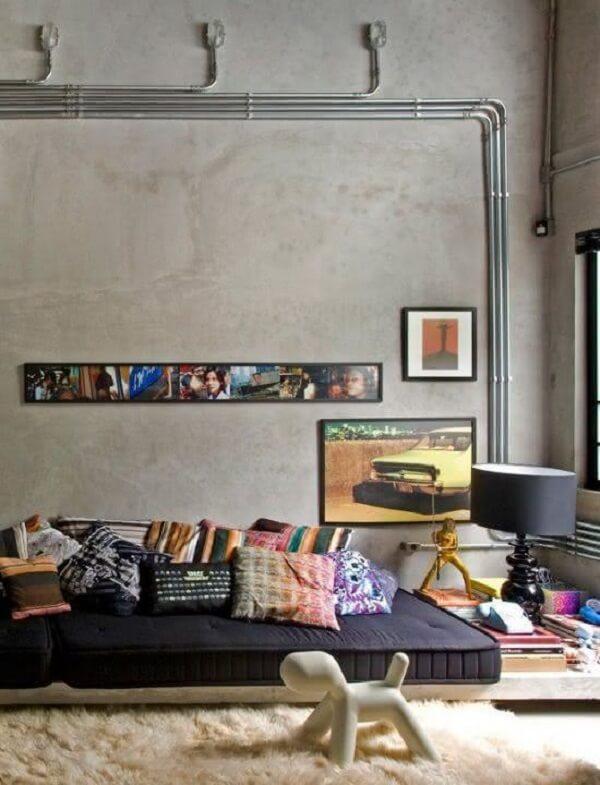 O tapete shabby é opção certa para quem preza o confort