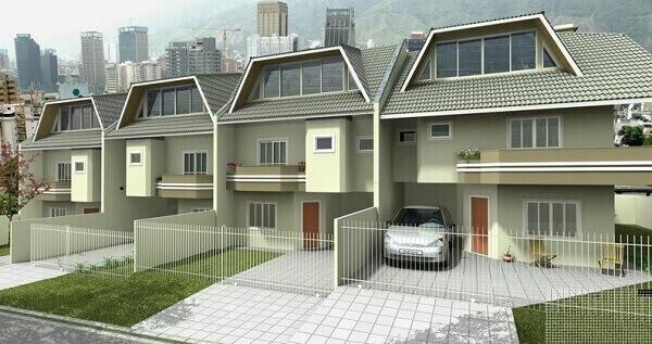 Projeto de casa germinada sobrado
