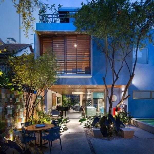 Sacadas também incrementam o visual da casa sobrado