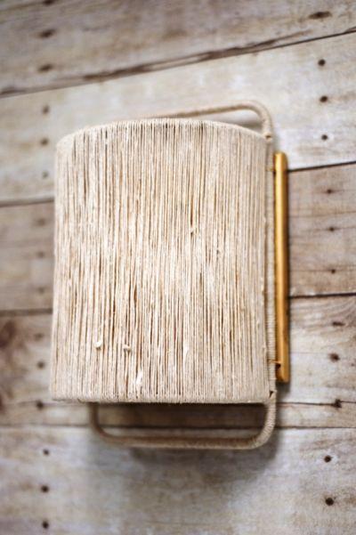Arandela rústica simples