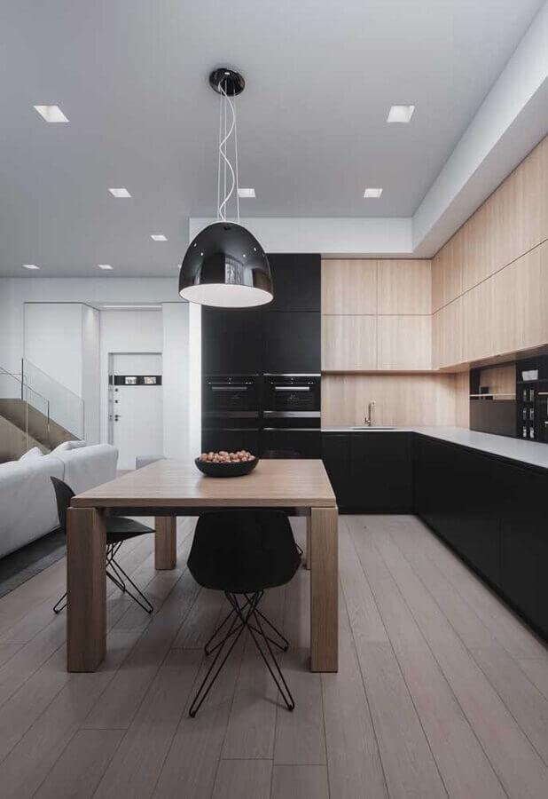 armários planejados modernos para casa conceito aberto grande Foto Home Fashion Trend