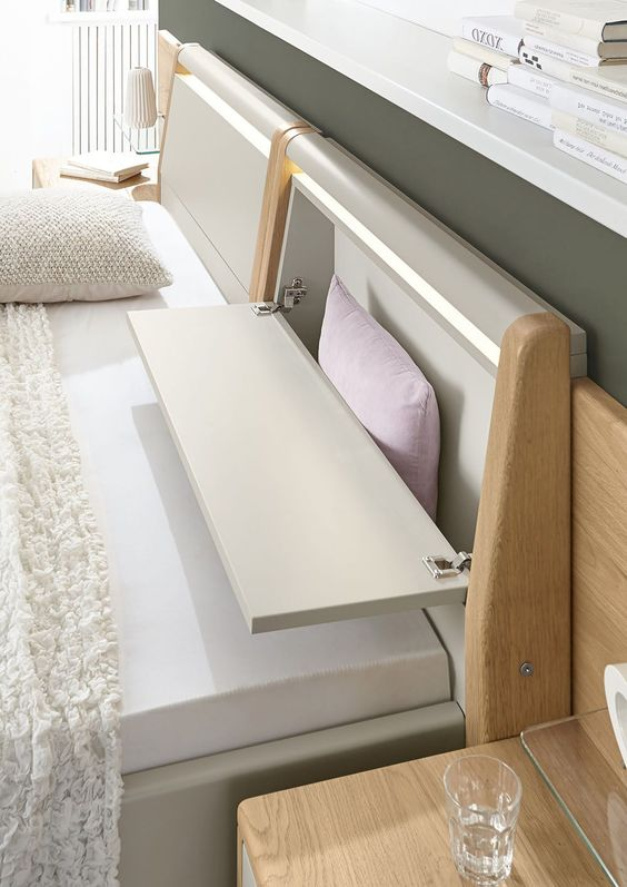 O baú pequeno também é útil