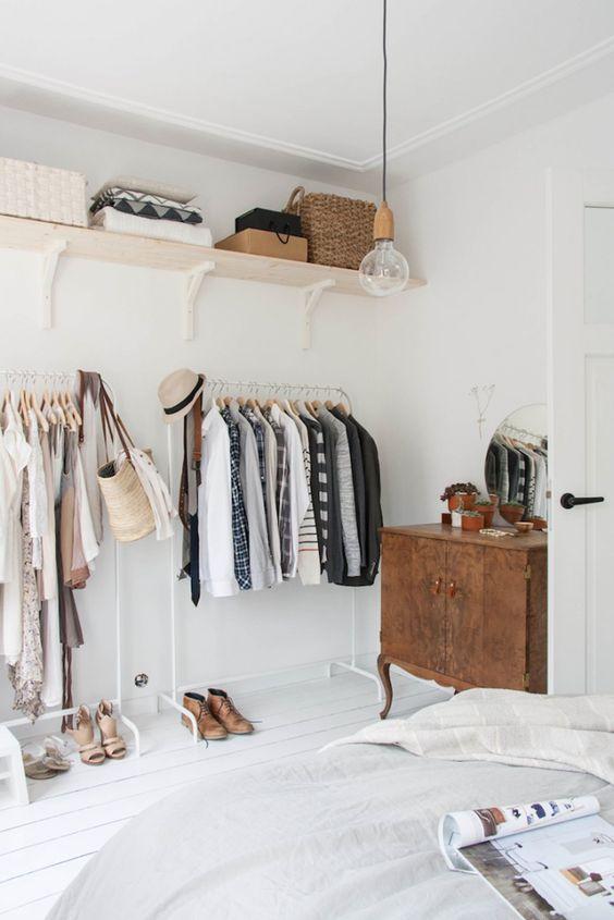 Aprenda como fazer um closet