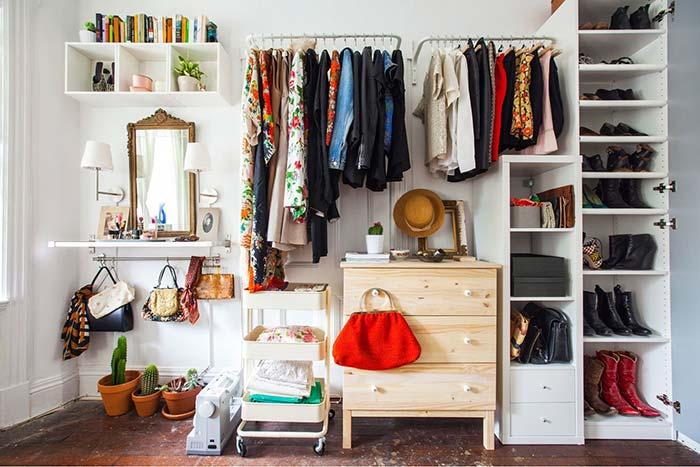 Aprenda como fazer um closet no quarto