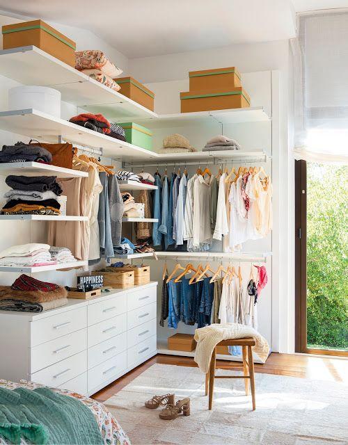 Aprenda dicas incríveis para fazer um closet funcional