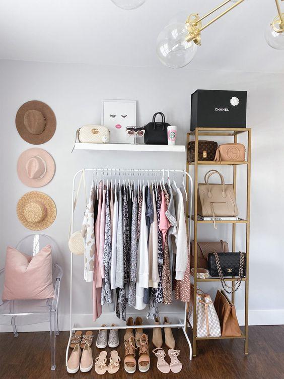 Como fazer um closet simples