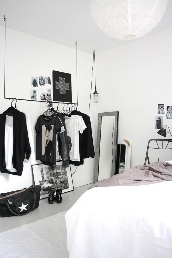 Como fazer um closet simples no quarto