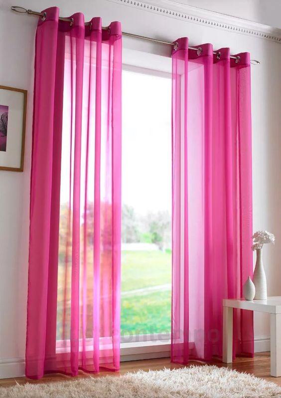 Cortina rosa pink