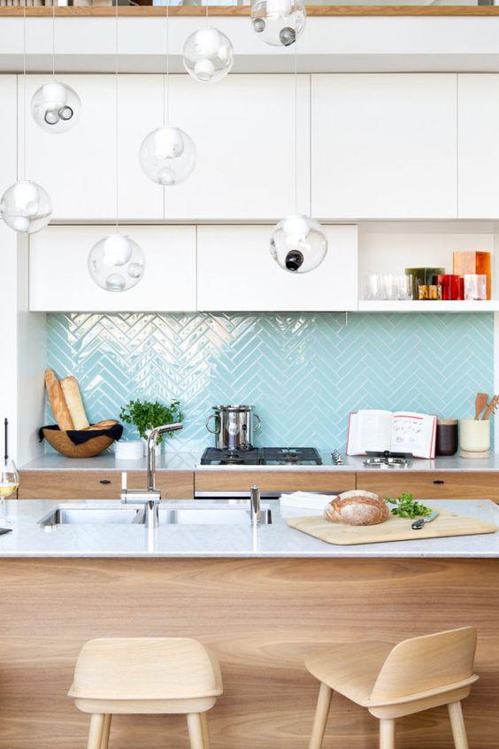 Não deixe de usar o revestimento na cozinha