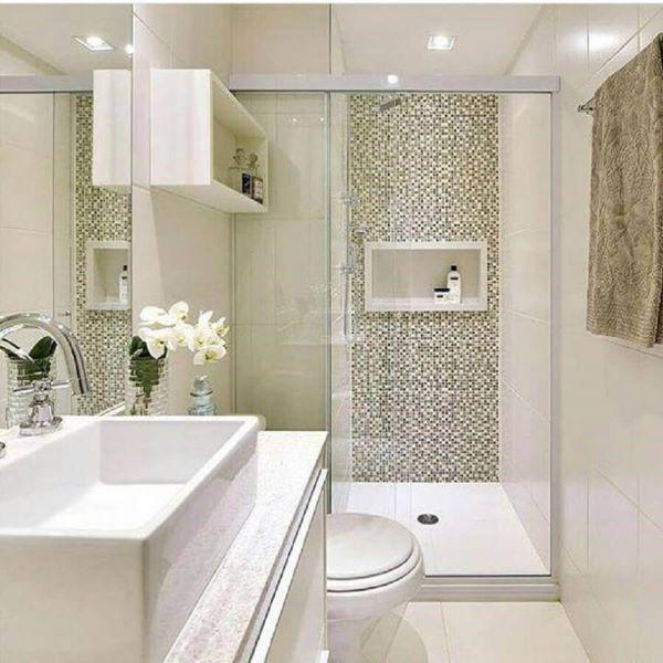 Decoração clean para banheiro