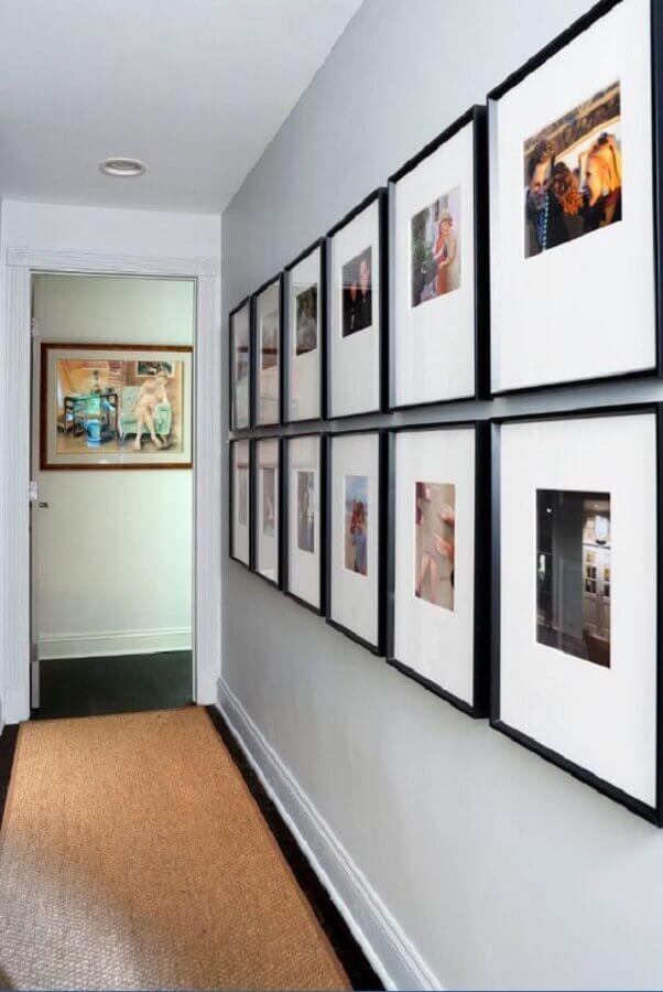 decoração com quadro para corredor de apartamento Foto Sebring Design Build