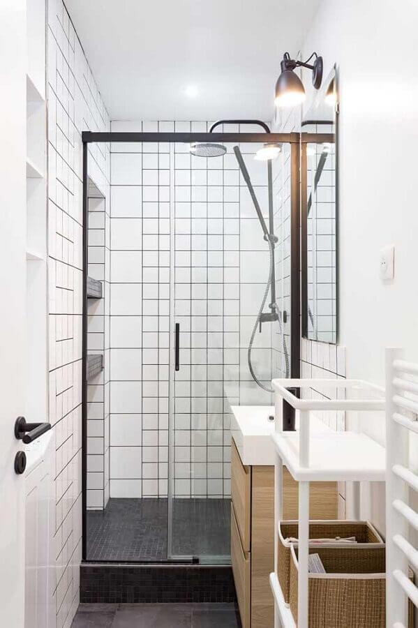 decoração de banheiro simples e pequeno Foto Houzz