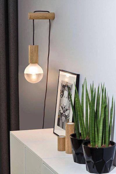 Arandela rústica na decoração da sala de estar