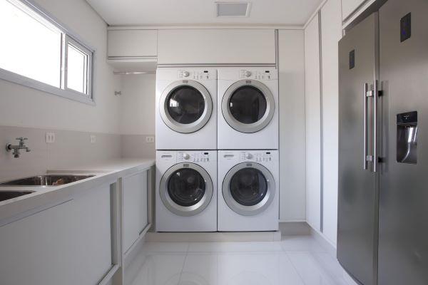 Decoração para lavandeira planejada