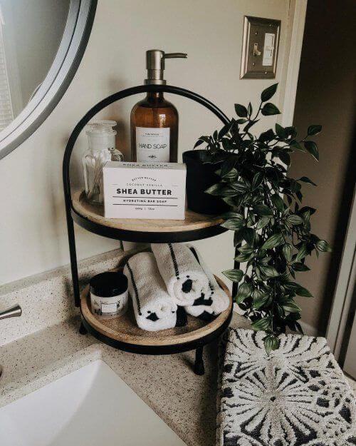 Kit para banheiro moderno