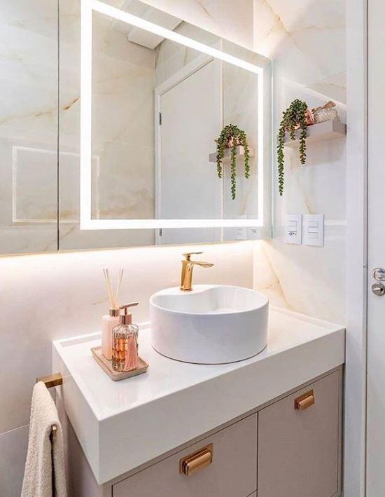 Kit para banheiro simples e pequeno
