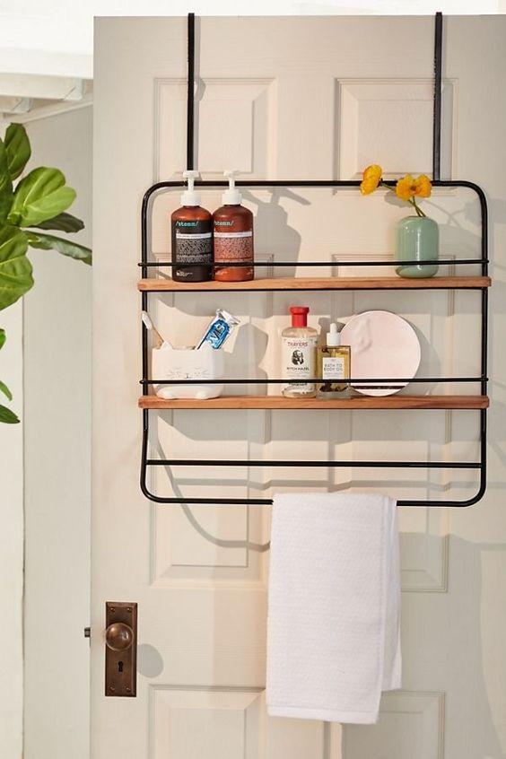 Kit para banheiro pequeno em detalhes