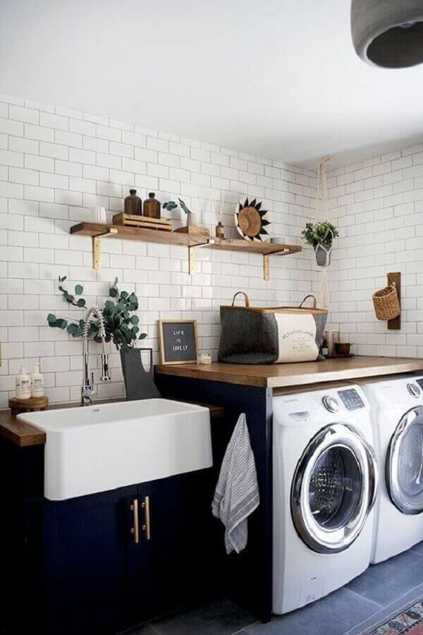 Modelos de lavanderia com decoração charmosa