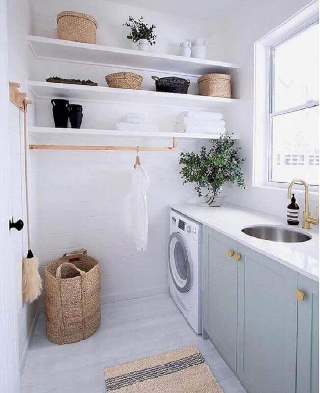 Modelos de lavandeira planejada