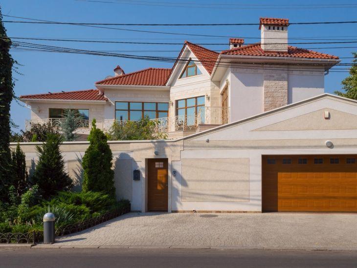 Muros bonitos de casa grande