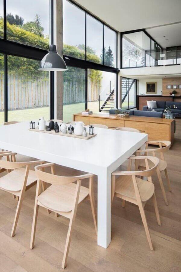 paredes de vidro para casa conceito aberto ampla e moderna Foto Pinterest