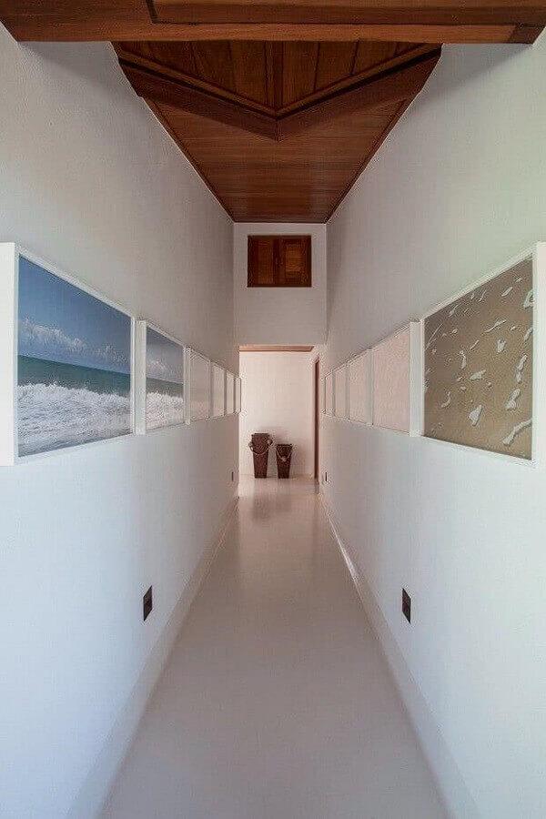 quadros decorativos para corredor minimalista  Foto Home Fashion Trend
