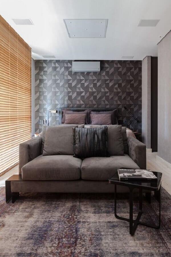 Papel de parede preto e cinza