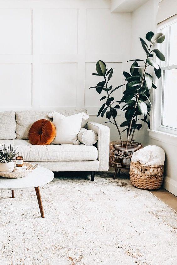 Tapete grande para sala clean