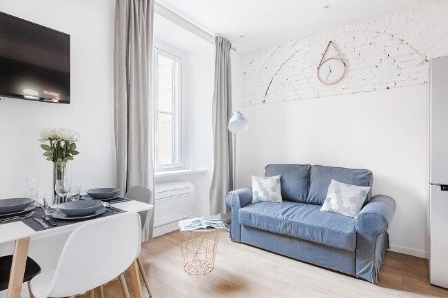 Descubra os milagres que as tonalidades certas podem fazer e acerte na pintura do seu apartamento pequeno