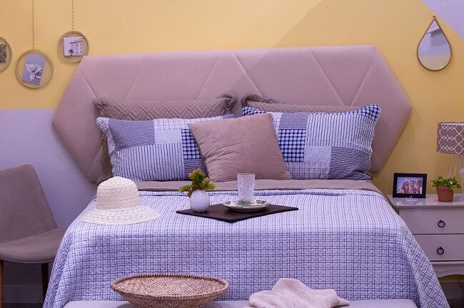Tendências para quartos em 2021: invista em jogo de lençol completo com edredom fofinho