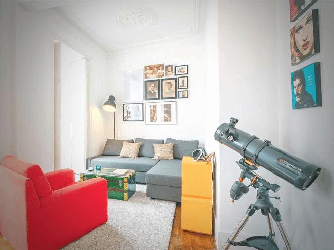 O branco é a aposta mais clássica para quem deseja fazer a pintura do seu apartamento pequeno