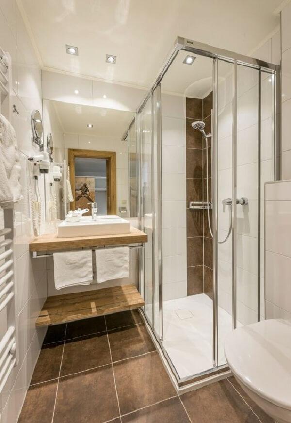 Fique atento as medidas da cuba de apoio para banheiro pequeno