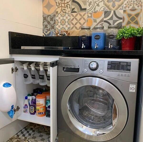O revestimento para lavanderia interna deve unir beleza e funcionalidade