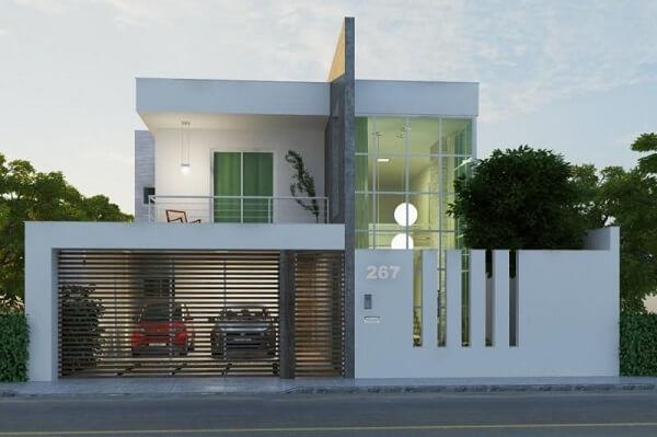 Os modelos de muros com frisos favorecem a entrada de ventilação no imóvel