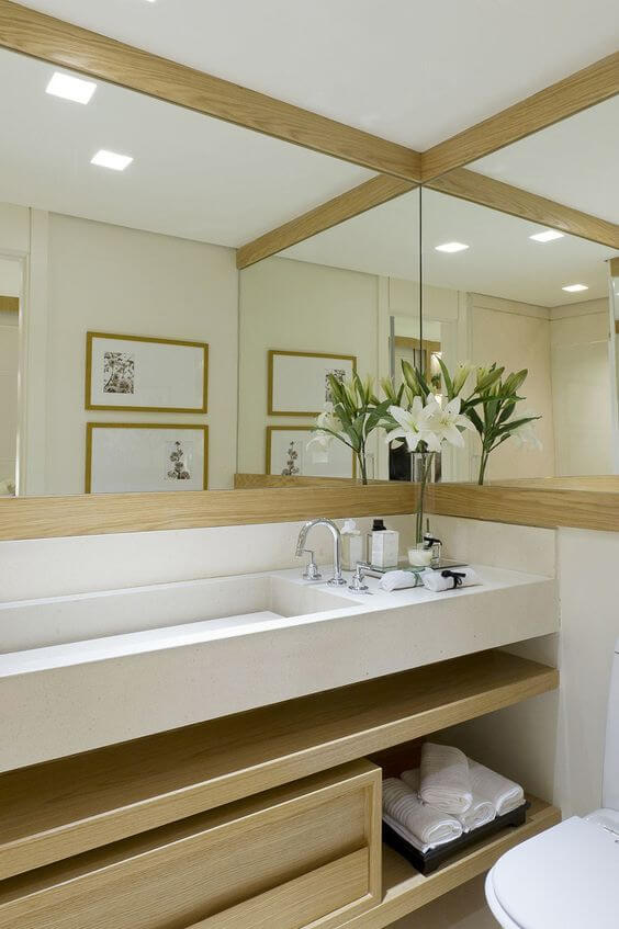 Decore seu banheiro com charme