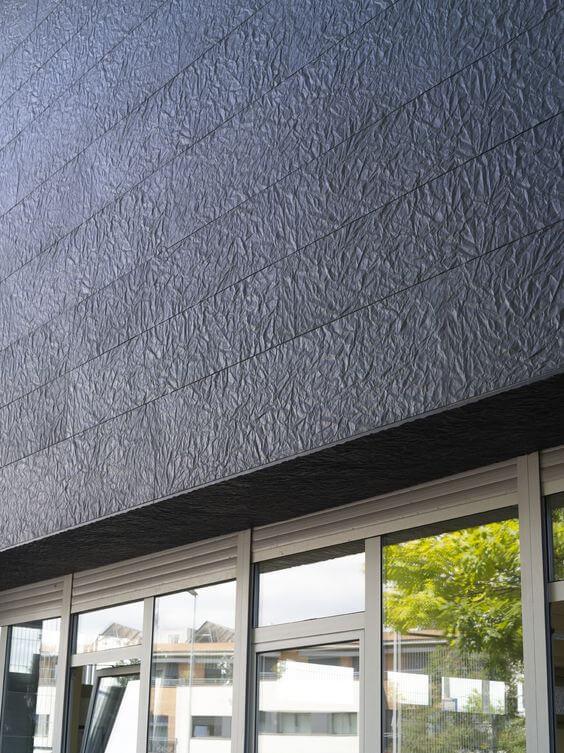 Cores de texturas para área externa moderna