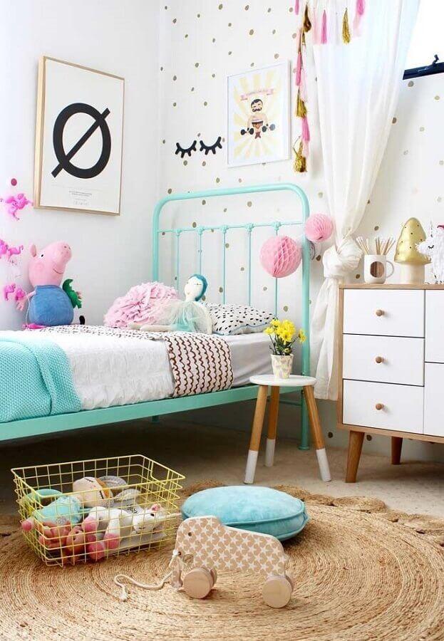 decoração colorida de quarto para criança Foto Últimas Decoração