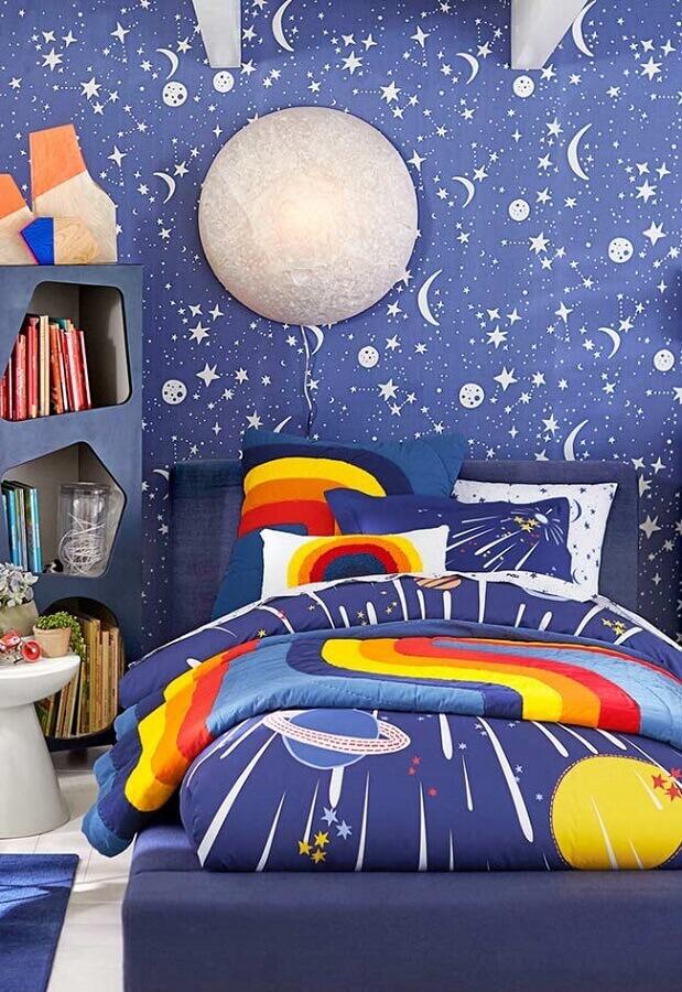 decoração de quarto para criança com tema universo Foto Home Fashion Trend